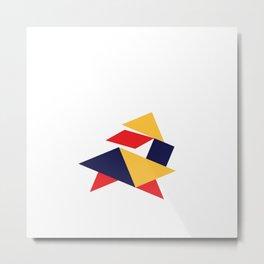 Tangrams Metal Print