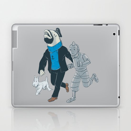 The Literal Adventures of... Laptop & iPad Skin