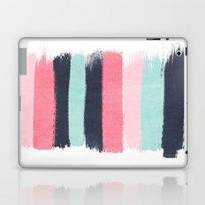 Cecily - abstract paint brush strokes paintbrush brushstrokes boho chic trendy modern minimal  Laptop & iPad Skin