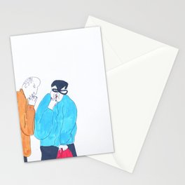 short break in shopping Stationery Cards