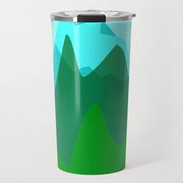 Alpine landscape Travel Mug