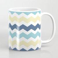 eevee Mugs featuring Vaporeon by Halamo Designs