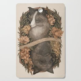 Friend Fox, Foe Fox Cutting Board