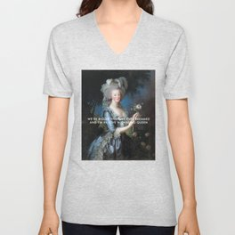 In Love with Being Queen of France Unisex V-Neck
