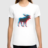 moose T-shirts featuring Moose by BMaw