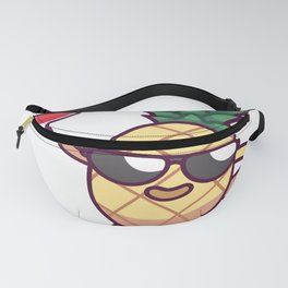 Pineapple Island Cocktail Party Gift Fanny Pack