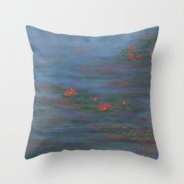 Lotus VII Throw Pillow