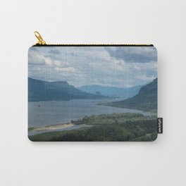 Columbia River Gorge From The Vista House Carry-All Pouch