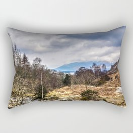 Lake District View Rectangular Pillow