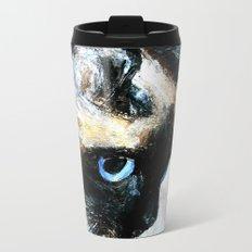 Siamese Cat Metal Travel Mug