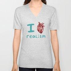 Realism Unisex V-Neck