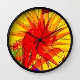 Bird hunting is prohibited: digital artwork 4U Wall Clock