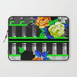 Chintz Rose Orange & Green Laptop Sleeve