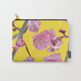 painted plum blossom yellow Carry-All Pouch