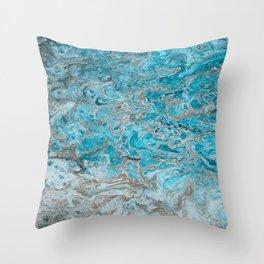 Beach Shallows 2 Throw Pillow