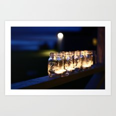 Mason Lights Art Print