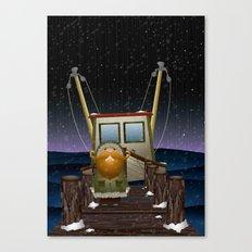 The Work of Saphron Burrows Canvas Print