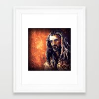 thorin Framed Art Prints featuring Thorin by Shagliy