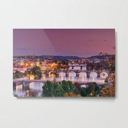 Charles bridge Metal Print
