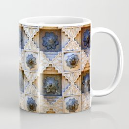 Wood Door Texture Coffee Mug