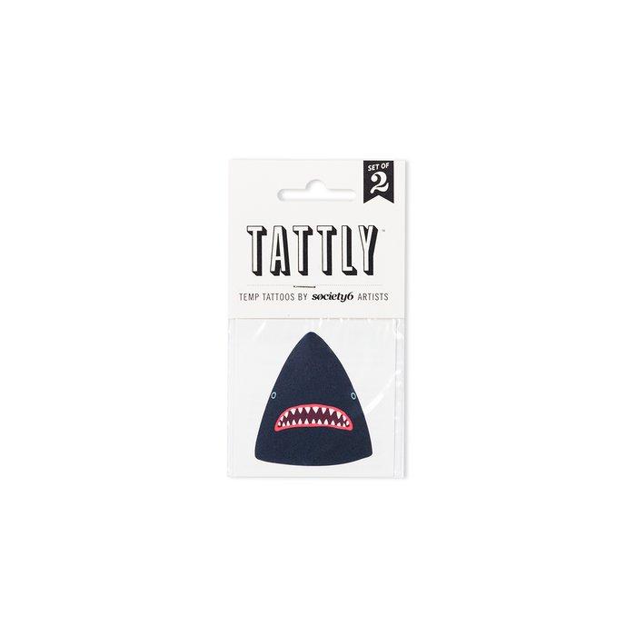 Shark Temporary Tattoos by Lorien Stern x Tattly