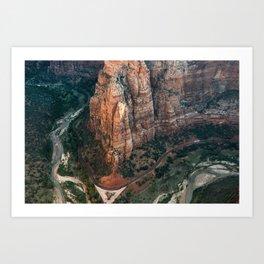 Zion Canyon Art Print
