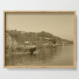 Moville Coastline Donegal Tint Serving Tray