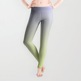 SIDEWAYS - Minimal Plain Soft Mood Color Blend Prints Leggings