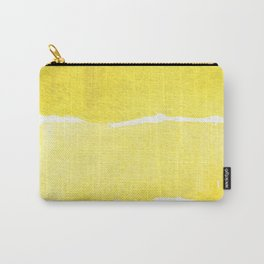 Watercolor Unlock: Yellow Carry-All Pouch