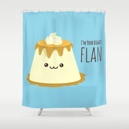 Biggest Flan Shower Curtain