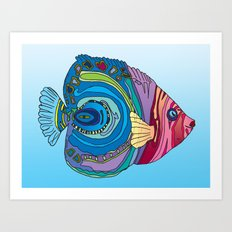 Oh That Fish Art Print