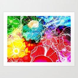 Aloha Floral Art Print
