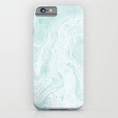 Seaforam Marble Print Slim Case iPhone 6s