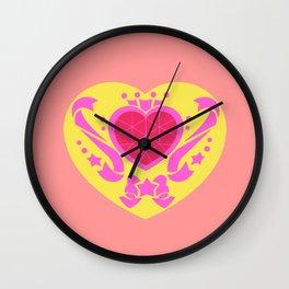 Chibi Moon Crystal Compact Wall Clock