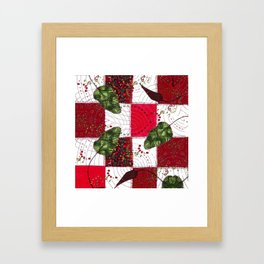 Young beetroots Framed Art Print