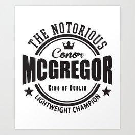 Conor Mcgregor softball T-Shirts Art Print
