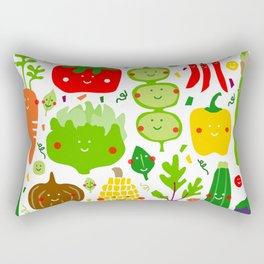 Eat your greens! Rectangular Pillow