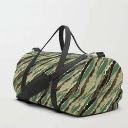 Abstract camouflage pattern. 2 Duffle Bag