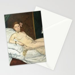 Olympia, Édouard Manet Stationery Cards