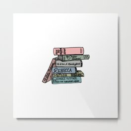 Favorite Books - In Color Metal Print