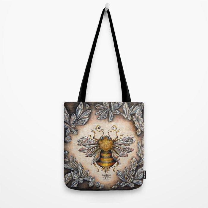Crystal bumblebee Tote Bag