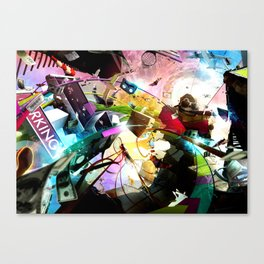 At your service (surreal/ music/ hip hop) Canvas Print