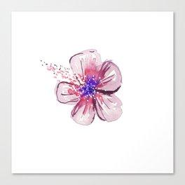 Little Lilac Flower Canvas Print
