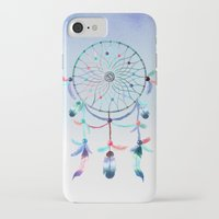 dream catcher iPhone & iPod Cases featuring Dream Catcher by General Design Studio