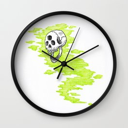 Lv. 24 Skeletal Wisp Wall Clock