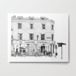 The Cambridge Chop House Metal Print
