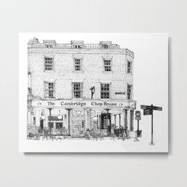 The Cambridge Chop House Metal Print
