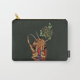 Cockroach all dressed up and ready to go paint the town Carry-All Pouch
