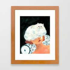serafina Framed Art Print