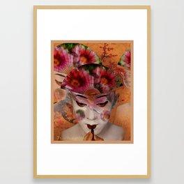 Kabuki II Framed Art Print